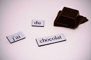 j'ai du chocolat