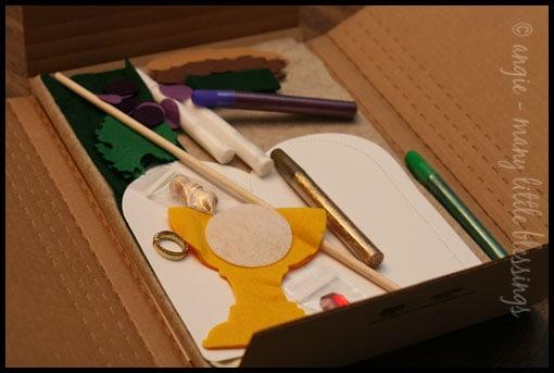First Communion Banner Kit Box (Inside)