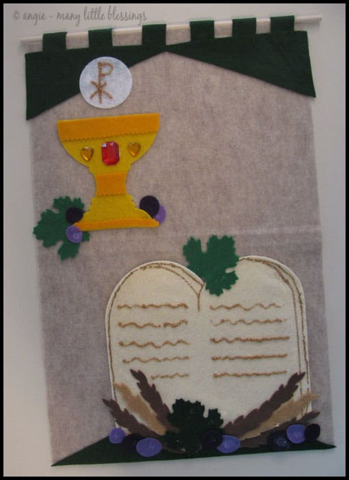 First Communion Banner Kit (almost done)