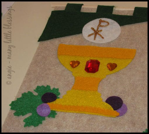 First Communion Banner Kit Chalice