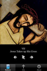 Stations of the Cross iPhone app