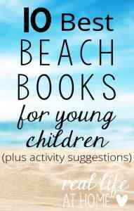 10 Best Beach Books for Young Children {with craft ideas to go with each book on the list}
