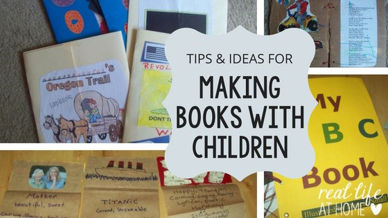 Tips for Making Books in Your Homeschool or Classroom