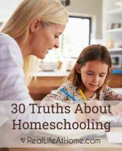 homeschooling truths you should know