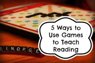 5 Ways to Use Games to Teach Reading