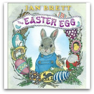 Jan Brett Easter Egg