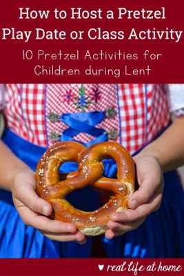 Lent is a perfect time to do pretzel activities with children to teach them about Lenten practices. Here are detailed pretzel activities to do with kids.