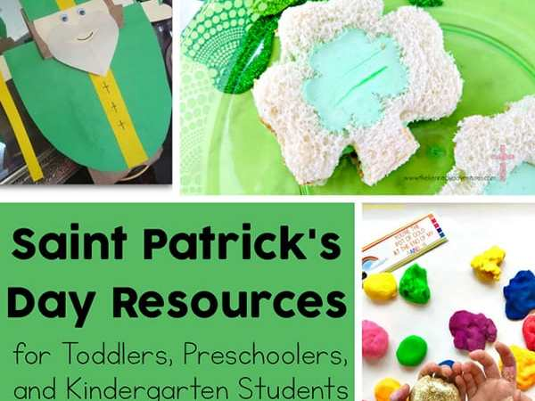 St Patrick's Day Resources for Toddlers, Preschoolers, and Kindergarten Students