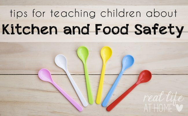Tips for Teaching Children about Kitchen Safety and Food Safety