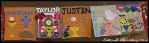 First Communion Banners