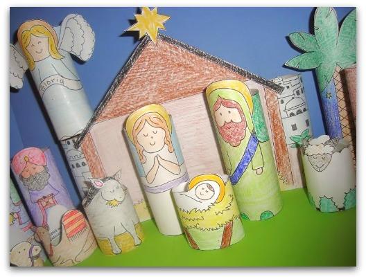 nativity craft for kids