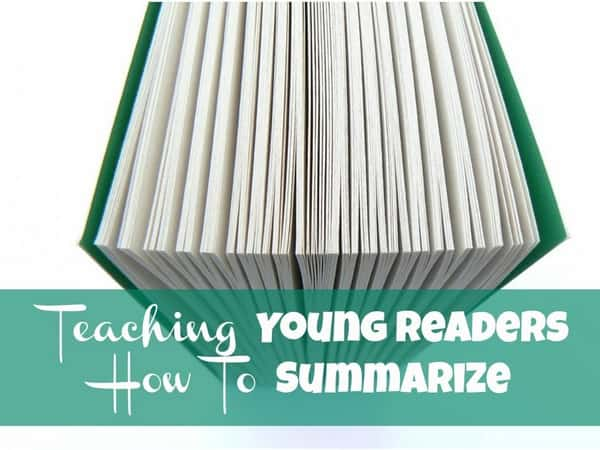 Teaching Young Readers How to Summarize