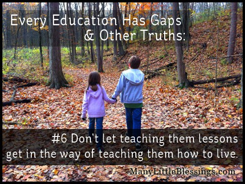 teach them how to live