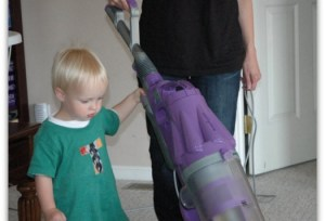 Keep Your House Clean with Small Children Underfoot
