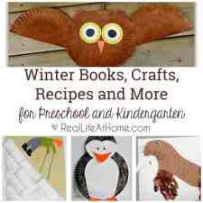 winter books and activities for preschool and kindergarten
