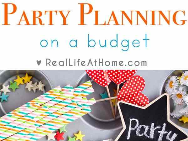10 Tips for Party Planning on a Budget