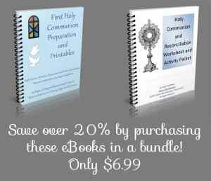 First Communion eBook Bundle