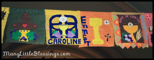 Sample First Communion Banners