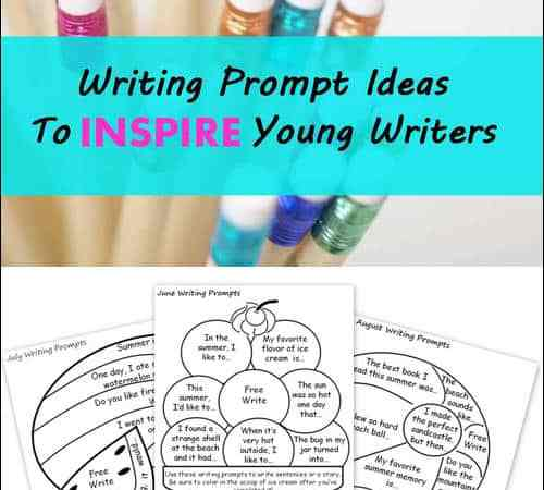Writing Prompt Ideas to Inspire Young Writers