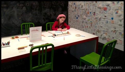 art museum kids room