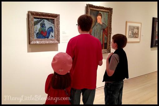 art museum chagall