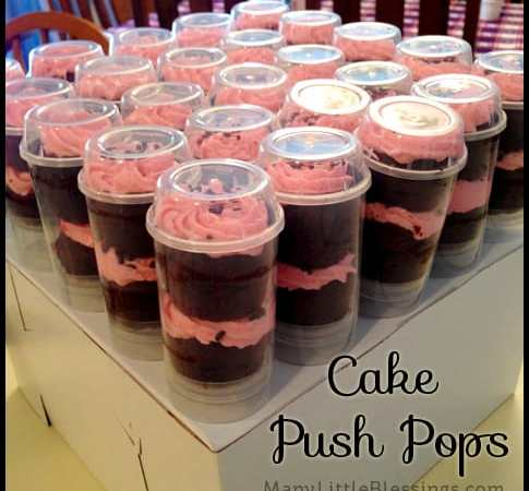 New Experience #6: Making Cake Push Pops