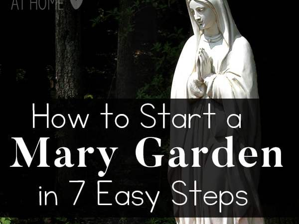 How to Start a Mary Garden in 7 Easy Steps