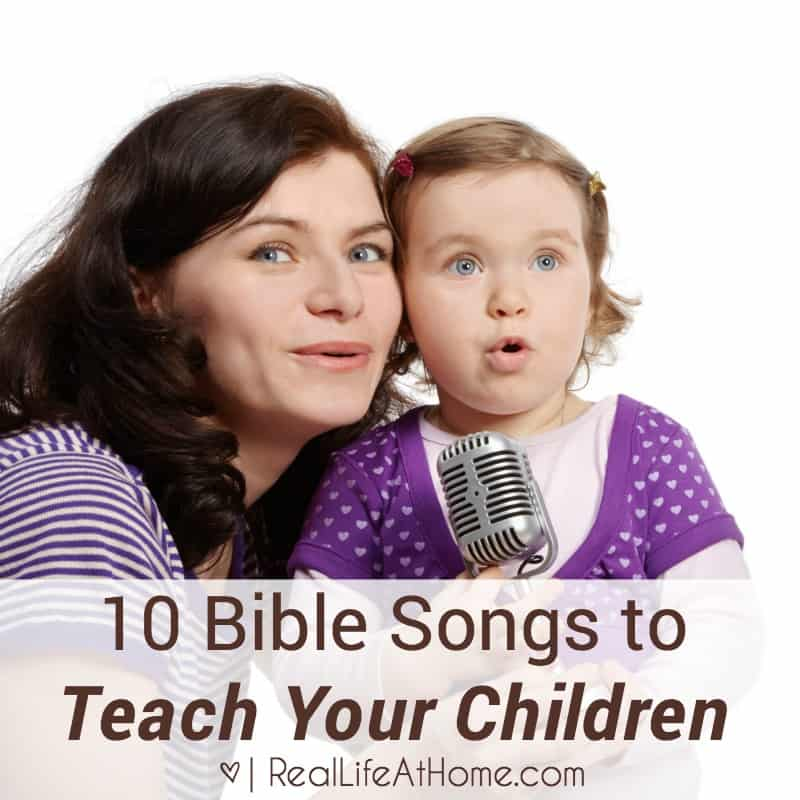 Share the Faith: 10 Bible Songs to Teach Your Children