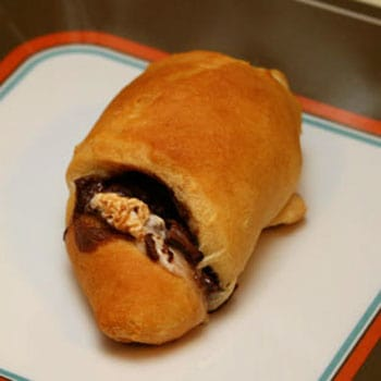 Nutella and Marshmallow Crescent Rolls Recipe
