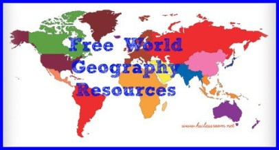 Free World Geography Resources