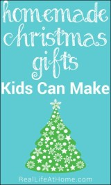 Homemade Gifts Kids Can Make