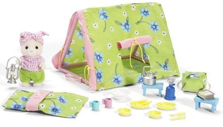 calico critters camping