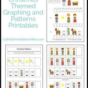 Christmas math printables set
