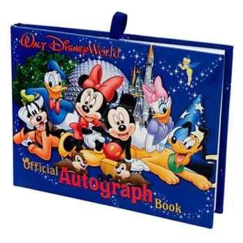 Walt Disney World Autograph Book