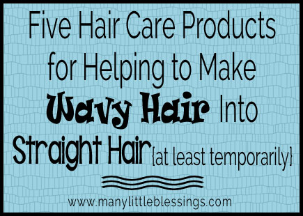 Five Hair Care Products for Helping to Make Wavy Hair into Straight Hair