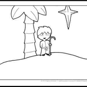 St. Joseph Coloring Page Printable