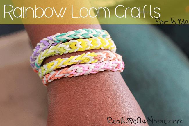 Rainbow Loom Crafts for Kids