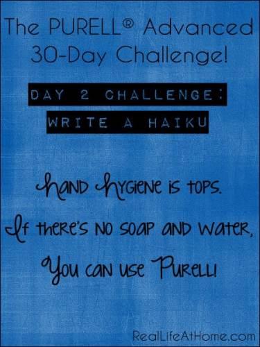 Purell 30-Day Challenge
