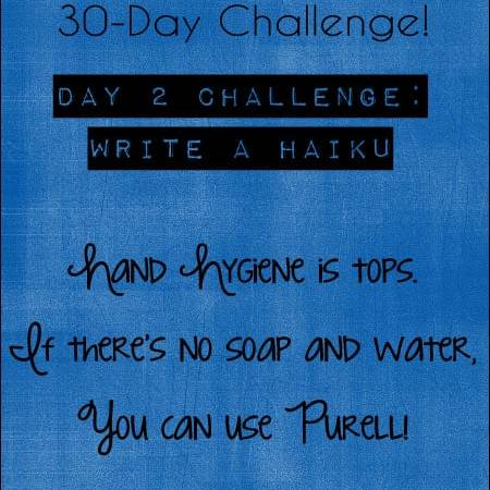 Take the Purell 30-Day Challenge