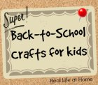 Back-to-School Crafts for Kids
