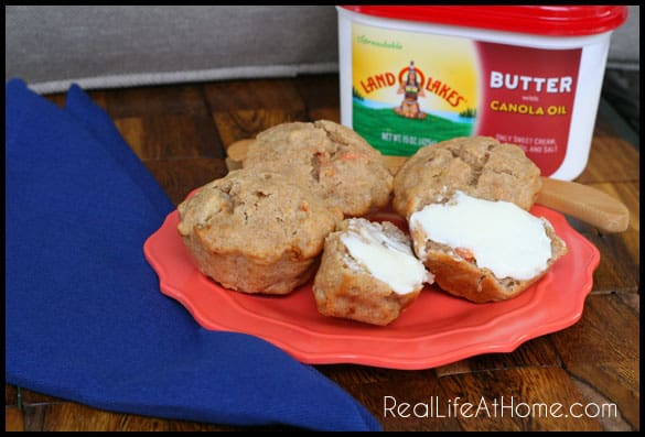 Perfect for Fall: Apple Nut Muffins