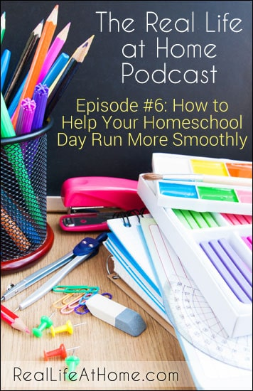 How to Help Your Homeschool Day Run More Smoothly
