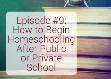 Homeschooling After Public School