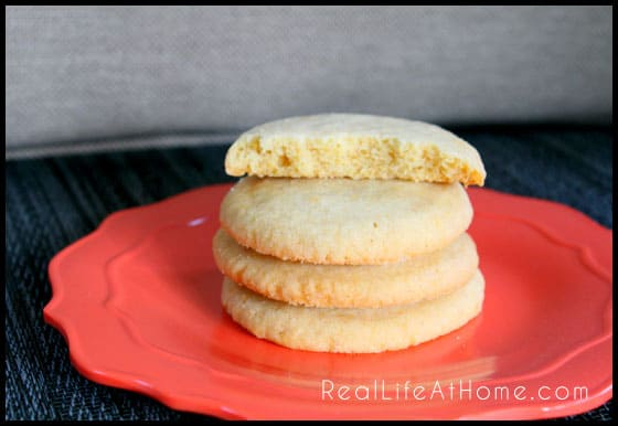 Orange Sugar n Spice Cookie Recipe