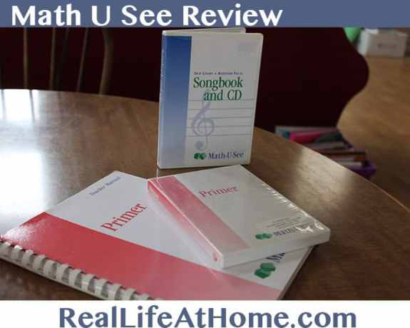 math u see review