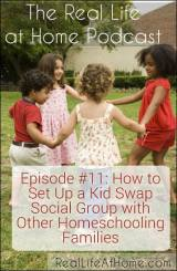 How to Set Up a Kid Swap Social Group with Other Homeschoolers