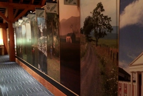 Inside the museum of the Shenandoah in Winchester, Virginia