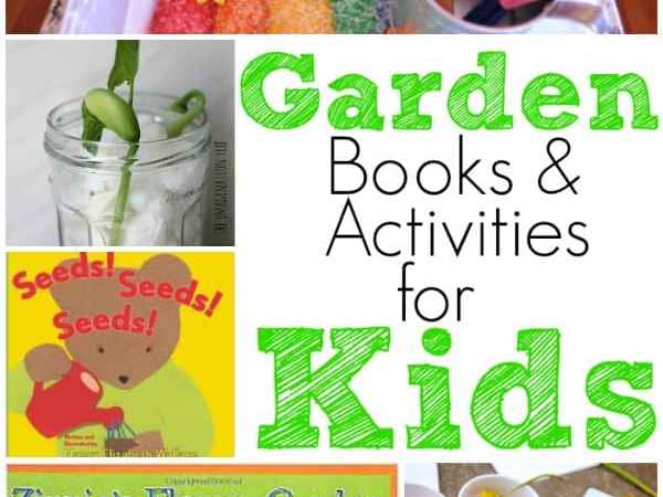 Garden Books and Activities for Preschoolers