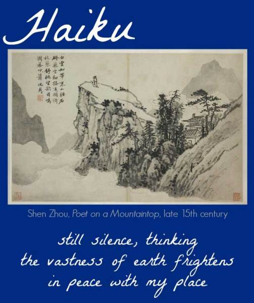 the Art Curator for Kids for Real Life At Home - Writing Haikus about Art with Kids - Haiku Example