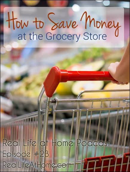 How to Save Money at the Grocery Store {Podcast 23}